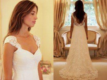 Vestido Casamento by Wanda Borges