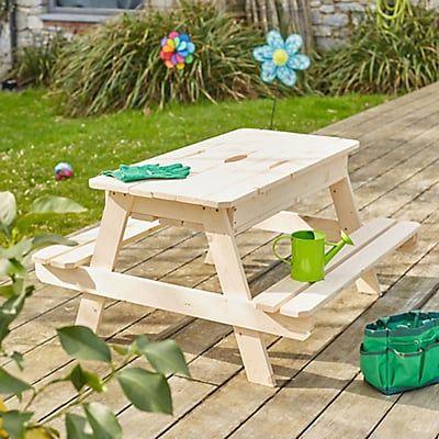 great table bac sable en bois pour enfant with bac a sable soulet. Black Bedroom Furniture Sets. Home Design Ideas