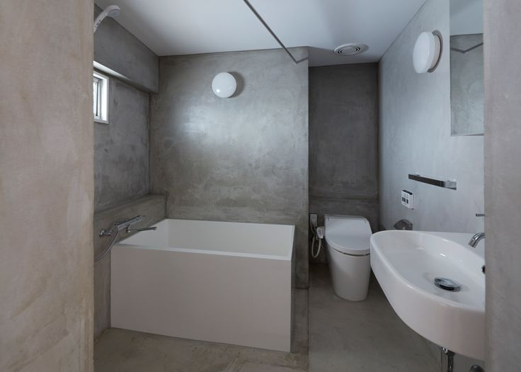 in order to make better use of space inside this small tokyo residence local studio frontofficetokyo replaced walls with box like volumes and partitions: architecture bathroom toilet