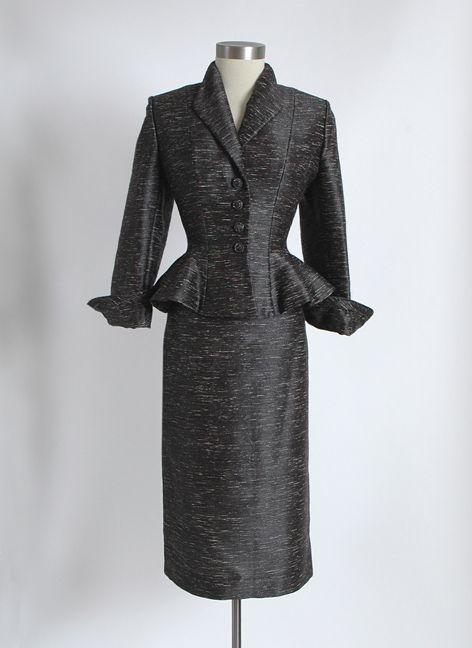 1950s Lilli Ann Dress Suits | item su063 wonderful 1940 s early 1950 s lilli ann