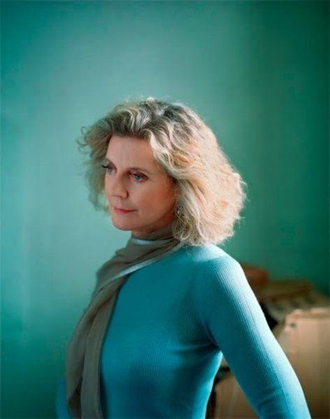 blythe danner, hair, grace, figure, face and so funny and lively. Love her work