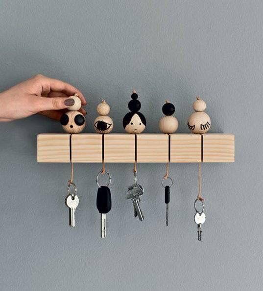 DIY: key holder