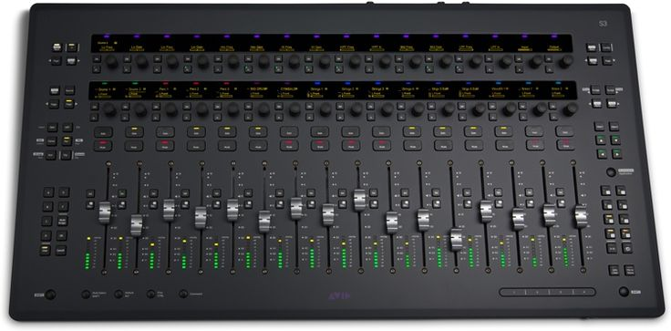 Control Surface With 16 Motorized Faders Eucon Support