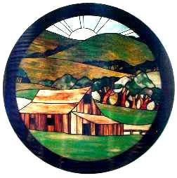 stained glass barn | Stained Glass Supplies - patterns