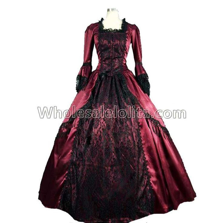 >> Click to Buy << High Quality Marie Antoinette Penny Dreadful Renaissance Vampire Dress Gown Theatre Dress #Affiliate