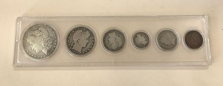 US Silver Coin Lot - Morgan Dollar/Half Dollar/Quarter/Dime/Nickel & Penny