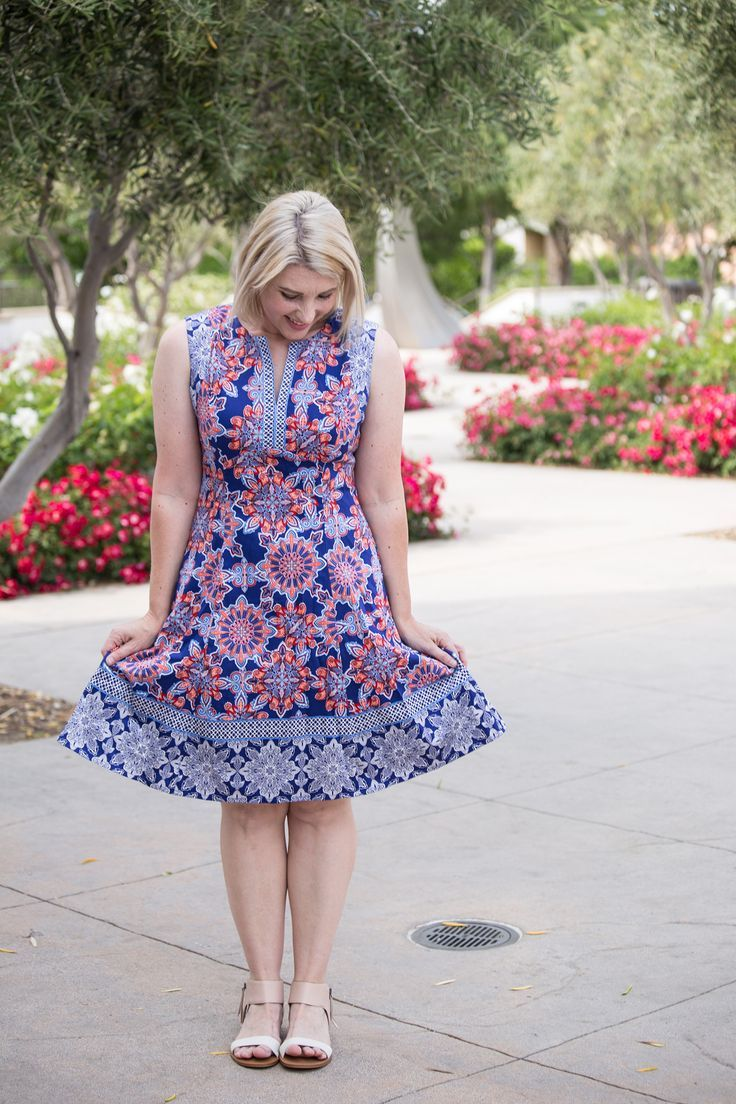 Stitch Fix Review June 2017: Isn't this Adorne Cornelia Dress adorable? I love a great summer dress!