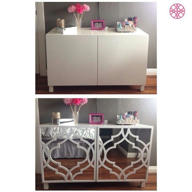 Diy Mirror Tv Cabinet: Refreshing The Queens Lair