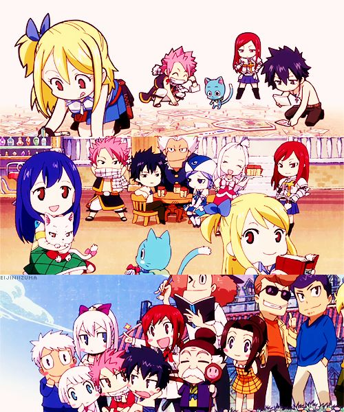120 best images about Chibi Fairy Tail on Pinterest | So ...