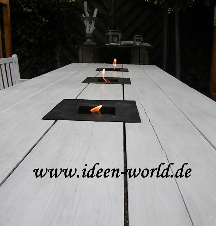 36 best Tische aus Holz /Garten Möbel images on Pinterest | Backyard ...