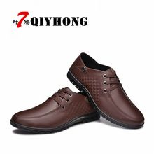 Gogett-hers     Tag a friend who would love this! Gogett-hers    Gogett-hers Get it here ---> http://www.gogett-hers.com/products/qiyhong-new-fashion-men-casual-leather-shoes-genuine-leather-mens-flats-black-brown-soft-comfort-business-dress-mens-shoes/
