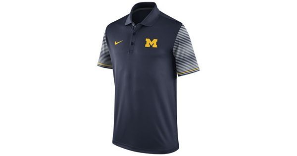 Michigan early season dri-fit polo