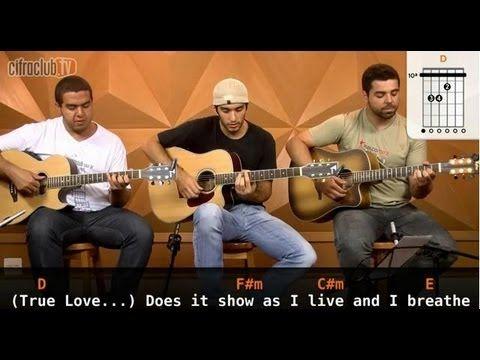 """Video aula de violão com o Leo Eymard, o Gustavo( Fofão) e o Adriano do CifraClub com a música """"True Love"""" – S.O.J.A."""