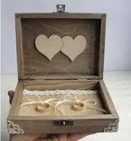 Risultati immagini per matrimonio contenitore per fedi