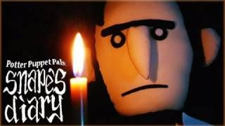 Potter Puppet Pals: Snapes Diary