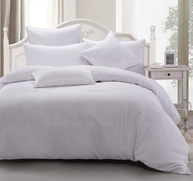 Ardor Home Cotton Waffle Quilt Cover Set Range Snow