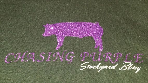 Chasing Purple Hoodie Chasing Purple stands for by StockyardBling