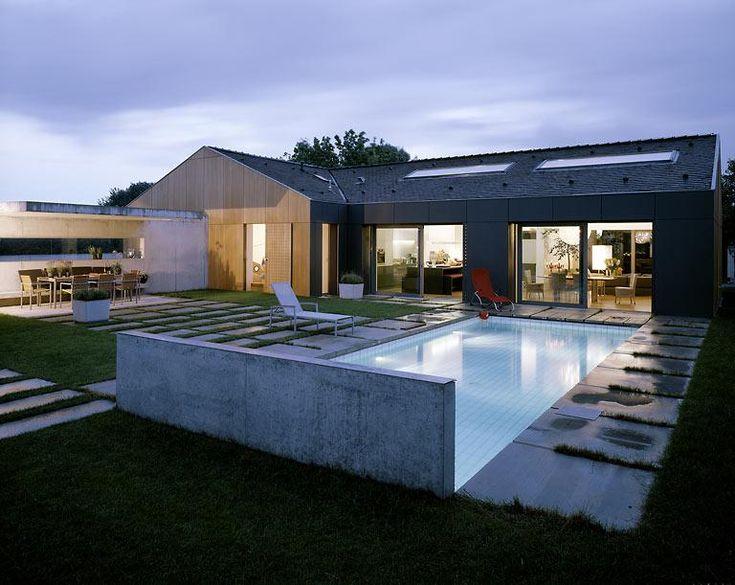 Fassade modern einfamilienhaus  Die besten 25+ Eternit fassade Ideen auf Pinterest | Mineralwolle ...