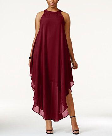 Love Squared Plus Size Halter Maxi Dress | macys.com