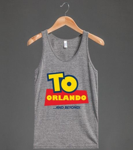 To Orlando and Beyond (Dark) | Tank Top | Front