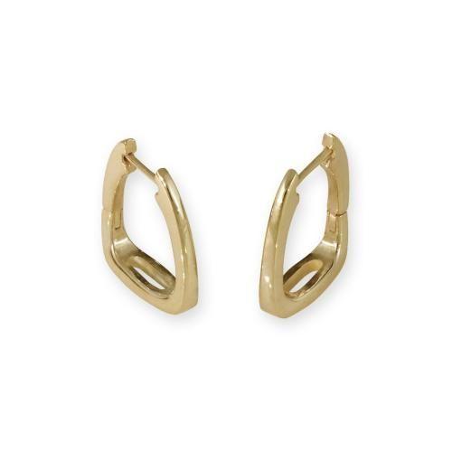Brookfield Gold Earrings-14K Gold