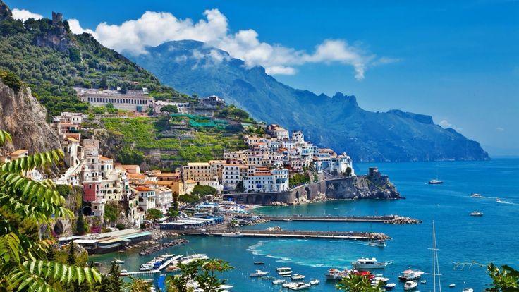 Amalfi, Amalfi Coast, Campania, Italy (UNESCO World Heritage List)