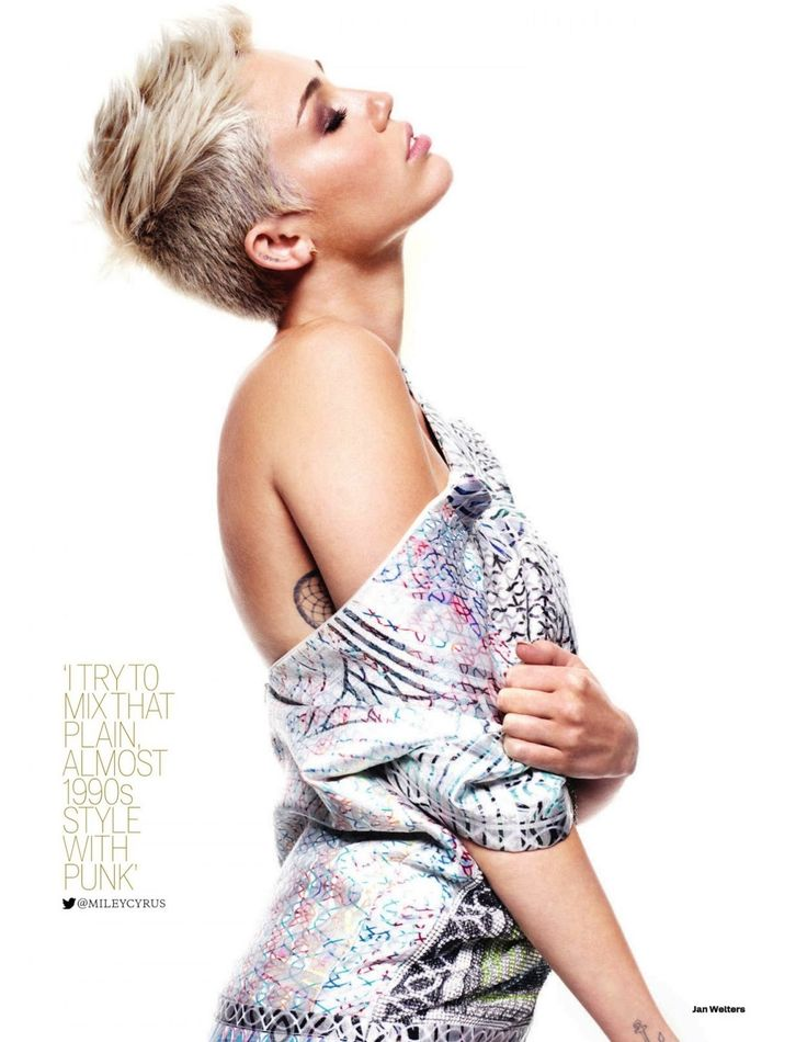 Miley Cyrus. I don't understand why everyone hates her now. I like her more now than I did before.