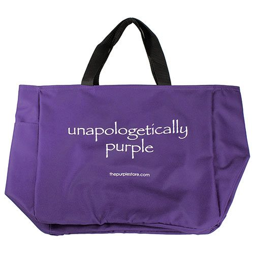 Purple Tote Bag- Unapologetically Purple//I NEED THIS!!!!!!!!