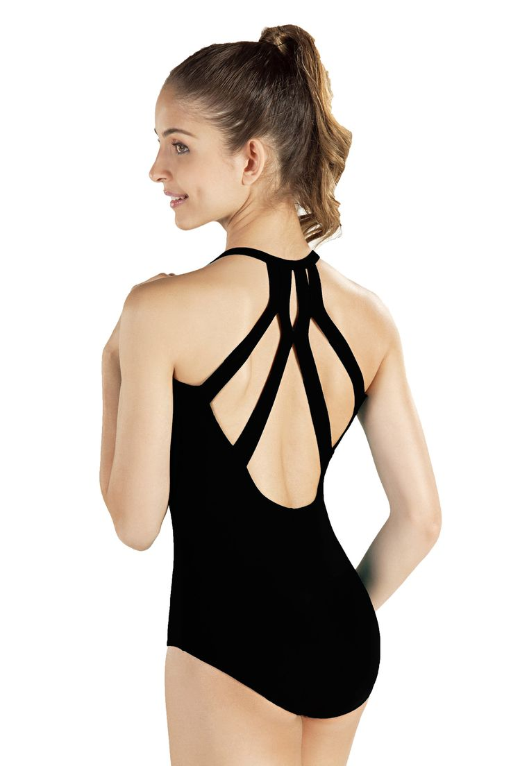 This So Danca Adult Camisole Leotard W/ Fashion Back is a must-have for any…