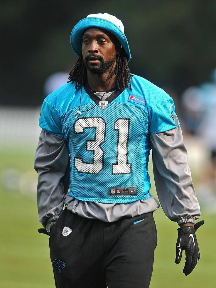 Carolina Panthers cornerback Charles Tillman at Wofford College in Spartanburg, SC on Thursday, August 6, 2015.