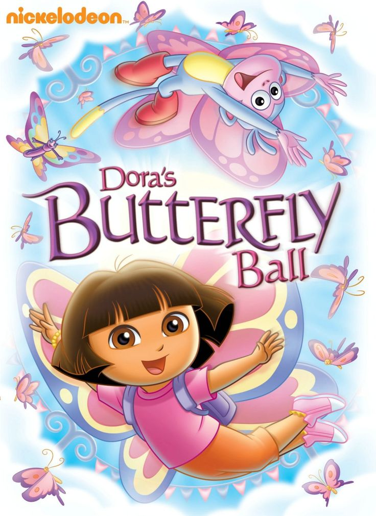 Dora the Explorer:  Dora's Butterfly Ball DVD (review and giveaway)