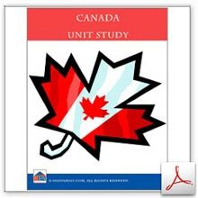 Canada Unit Study - Homeschool Learning Network | CurrClick
