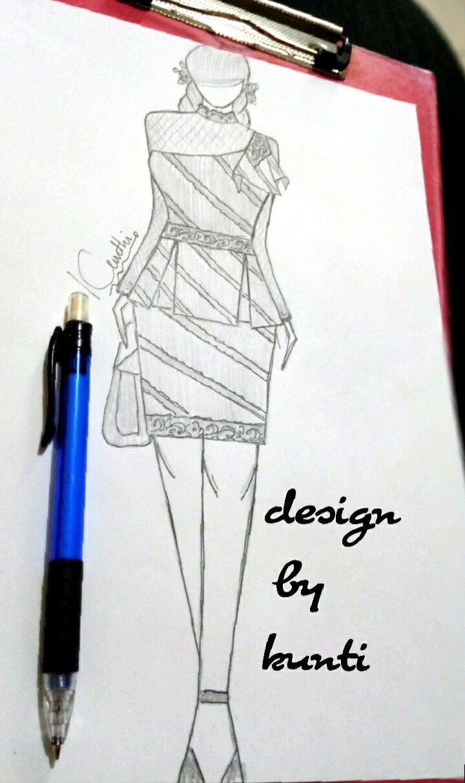 #batikkombinasi #batikdress  #minidress #lace #peplumdress