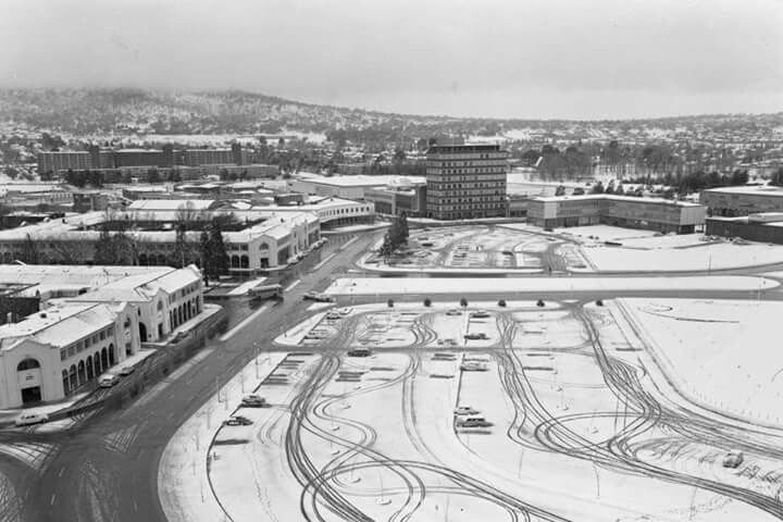 Canberra in the 1960s.