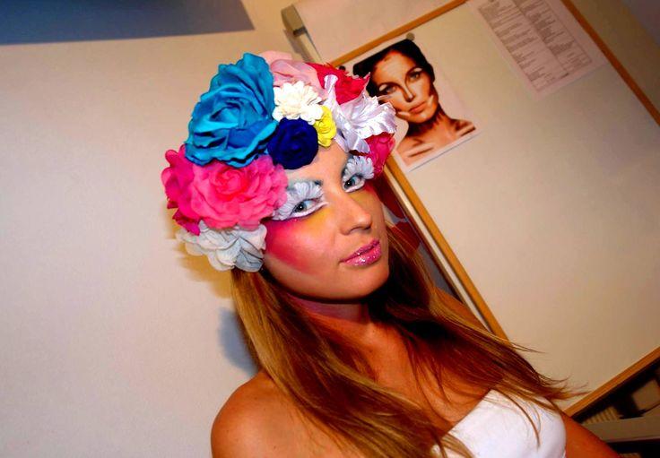 Make-up fantasy Ana Olariu