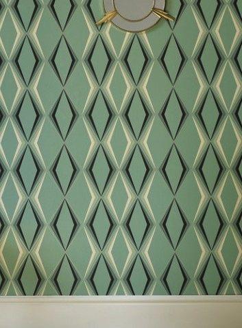 44 best papier peint geometrique images on pinterest geometric wallpaper paint and wall papers. Black Bedroom Furniture Sets. Home Design Ideas