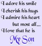 He is my world !