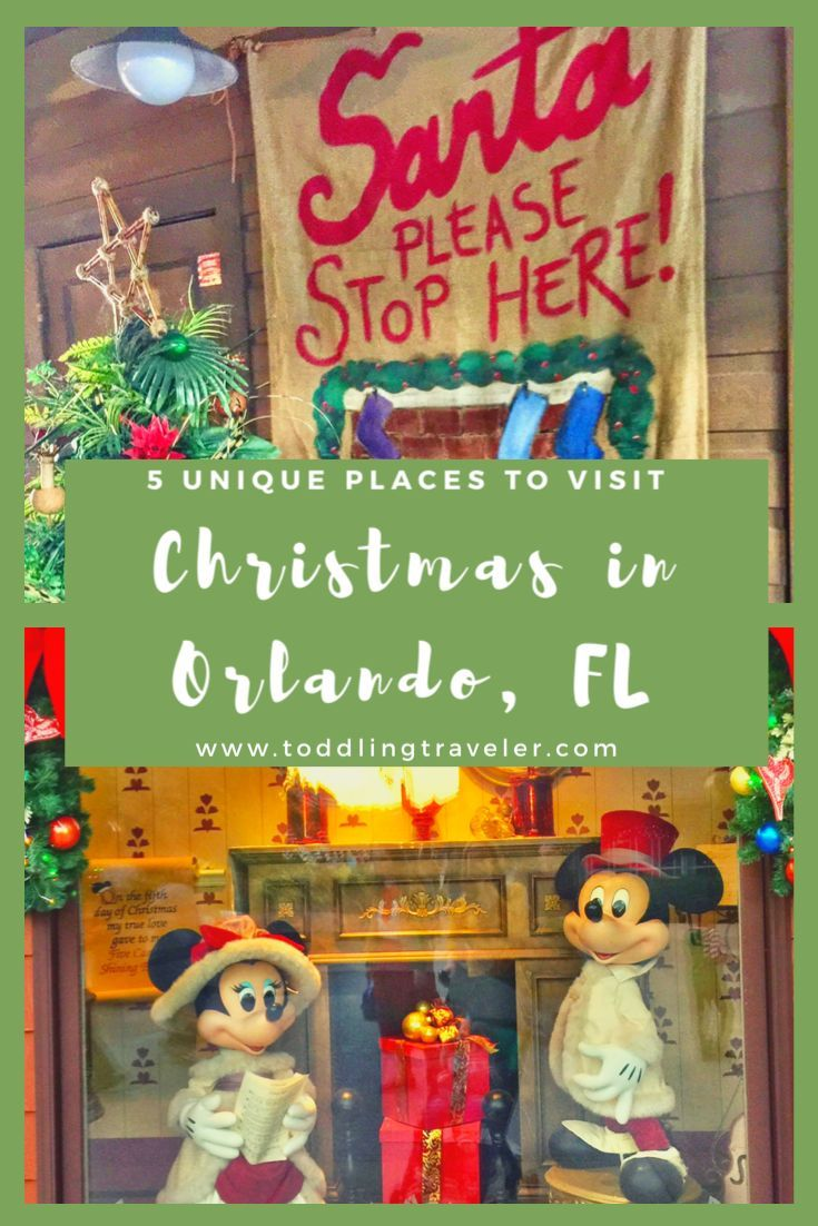 Things To Do Near Orlando On Christmas Day 2020 5 Awesome Things to do in Orlando at Christmas in 2020 | Fun