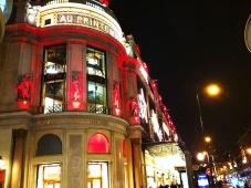Insight: Le Printemps on Boulevard Haussmann in Paris. Корнеры Le Printemps