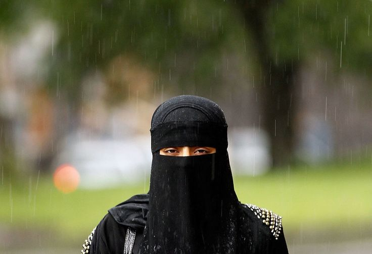 """The UKIP manifesto says the burqa should be banned because it """"prevents intake of essential vitamin D from sunlight""""."""