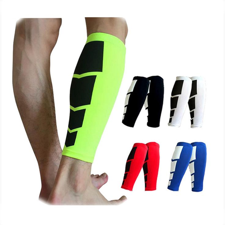 1PCS Base Layer Compression Leg Sleeve Shin Guard Men Women Cycling Leg Warmers Running Football Basketball Sports Calf Support ** Find similar products by clicking the image