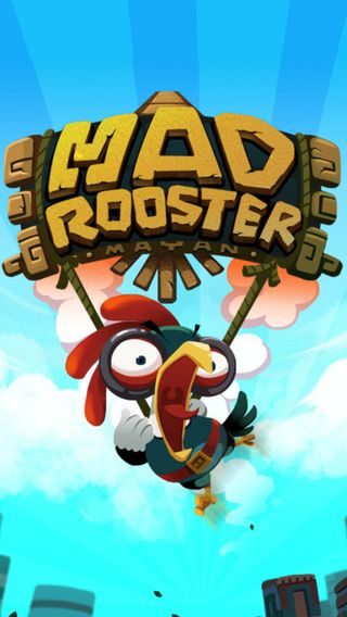 Mad Rooster Logo treatment