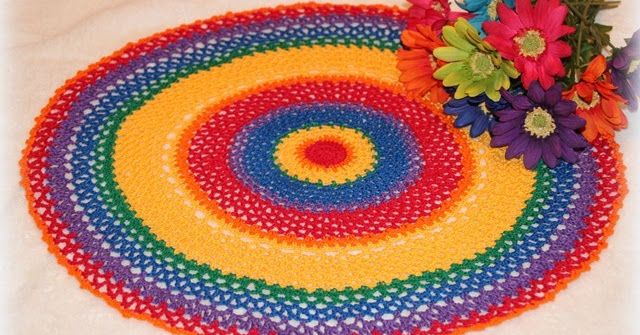 This pattern is wonderful for using up those partially used balls of thread. I looked on the Internet hoping to find such a pattern...