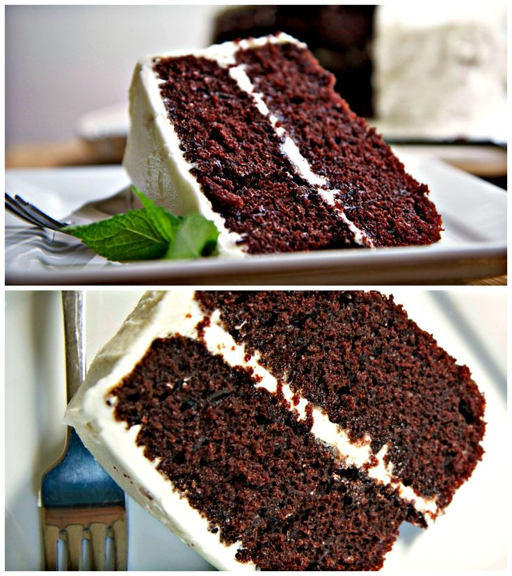 Moist, fluffy, chocolate devils food cake that stays moist and soft for days! Pair it with a simple, vanilla buttercream frosting.