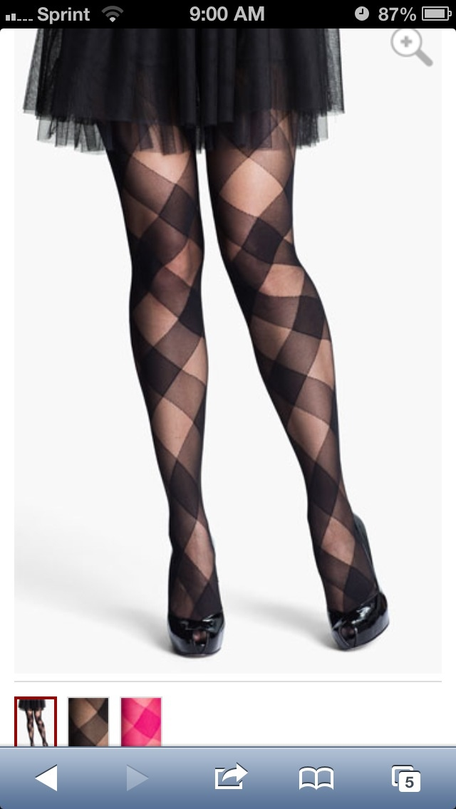 Nice stockings to compliment any outfit this season!