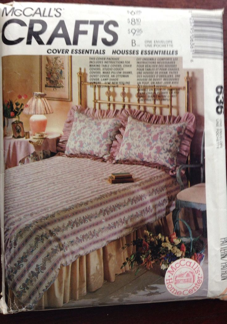 Cover essentials McCalls pattern by Followlight on Etsy