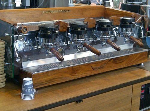 la mazorca espresso machine
