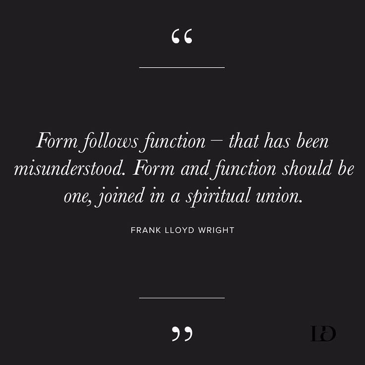 "form should follow function A presentation on the architectural proverb ""form follows function."