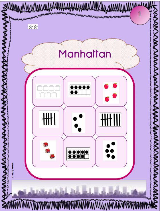un jeu individuel et progressif de numération permettant de travailler toutes les représentations du nombre (différentes série) et fiche de suivi...