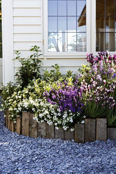 piha,ideat pihaan,ideat puutarhaan,pihan istutukset,pihakasvit,lauta,pihakukat,istutukset